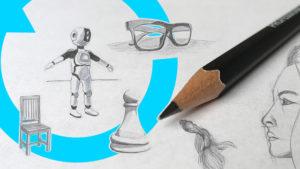 basic drawing skills sketching exercises price