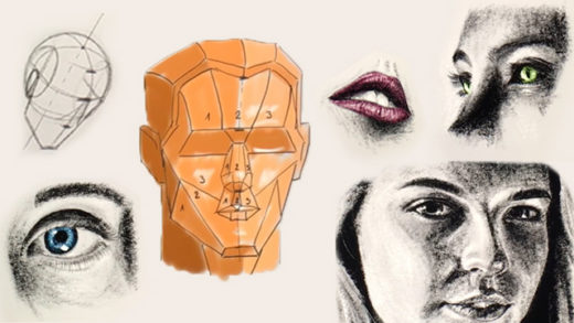 portrait drawing for beginners price